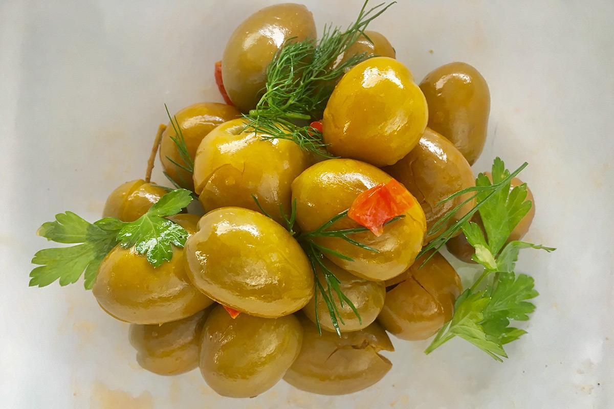 olivas gordal aliñadas