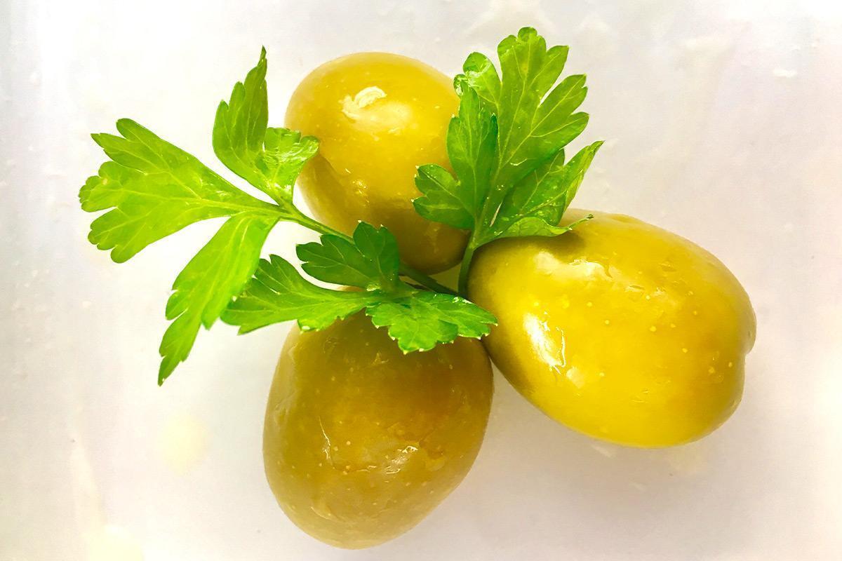 olivas gordal con hueso