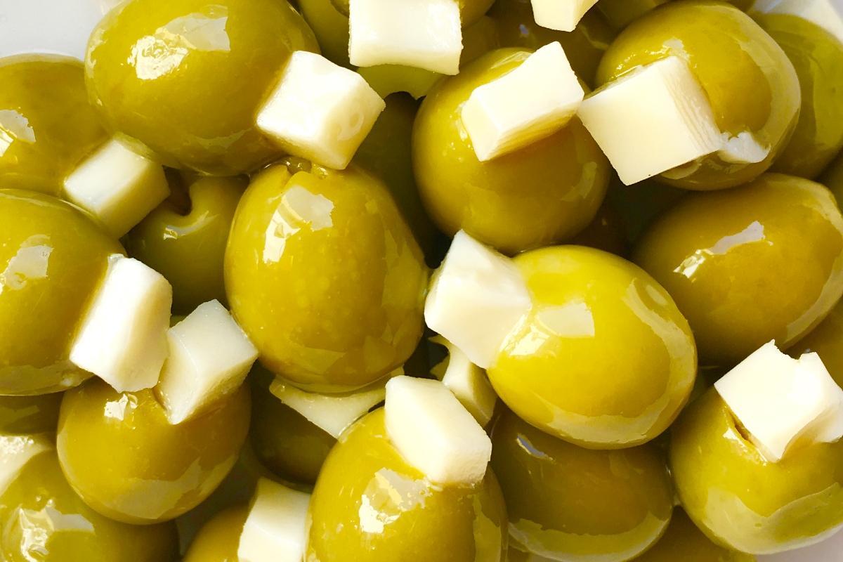comprar olivas aceitunas rellenas de queso