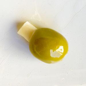 oliva con queso
