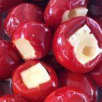 Cладкий красный перец фаршированный тунцом высокого качества
