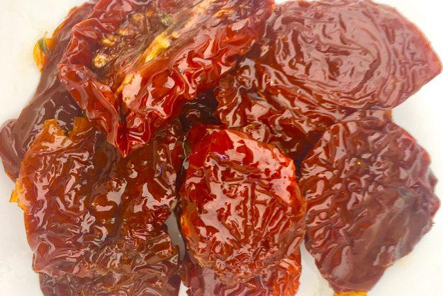 deliciosos tomates secos