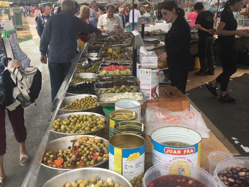 venta de olivas y encurtidos