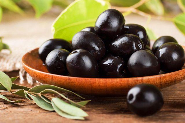 preparar aceitunas negras