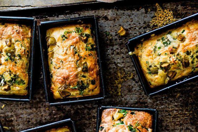mejores recetas con aceitunas pan de olivas
