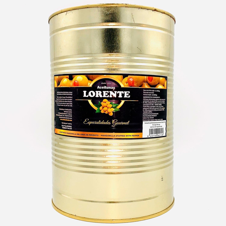 olivas rellenas de pimientos