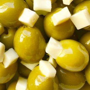 aceitunas rellenas de queso