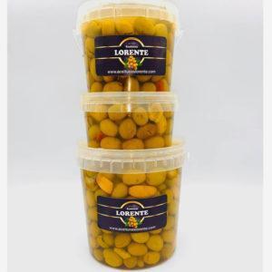 aceitunas secreto de la abuela diferentes tamaños de envase