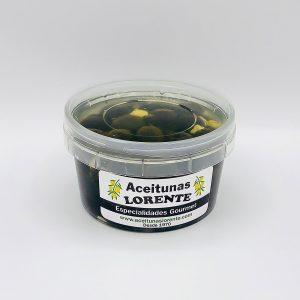 olivas negras con queso