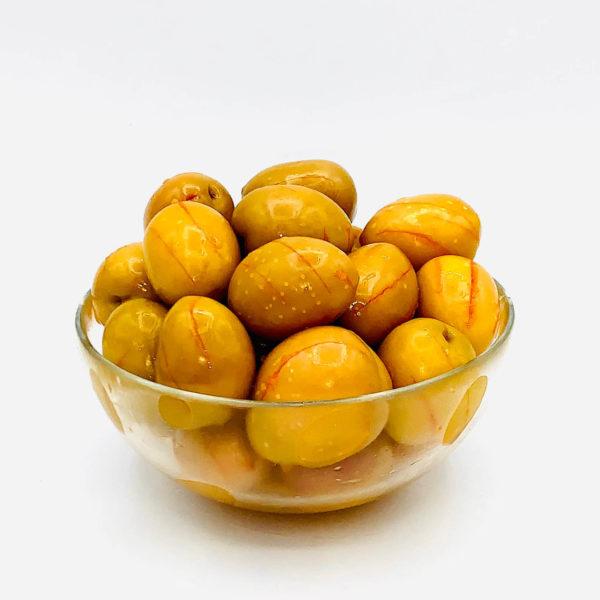приправленная оливка обрегон (макакамоя)