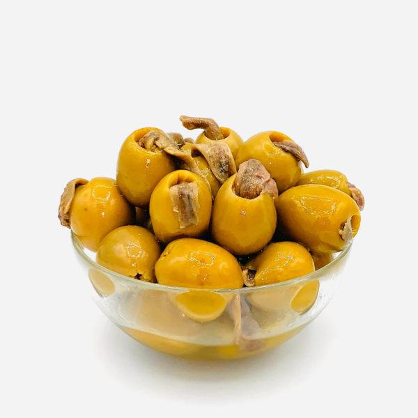 оливки гордаль заполненные анчоусом