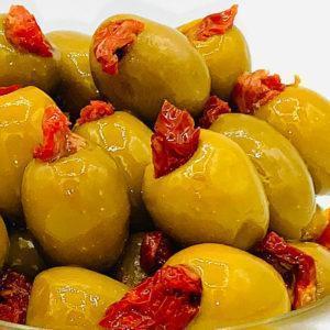 оливки гордаль заполненные сушёный помидорай