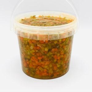 picadillos para ensaladilla en vinagre