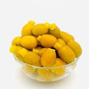 aceitunas picantes rellenas de guindilals